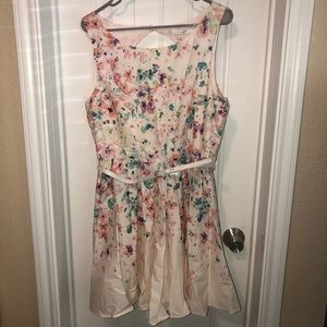 LC Floral Dress